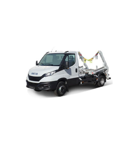Der Iveco Daily 70C18H Absetzkipper
